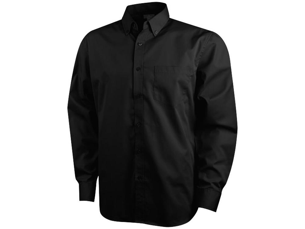 Рубашка Wilshire мужская с длинным рукавом, черный