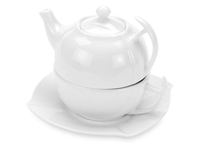 Набор «Эгоист»: чайник на 250 мл, чашка на 200 мл, блюдце, в подарочной упаковке