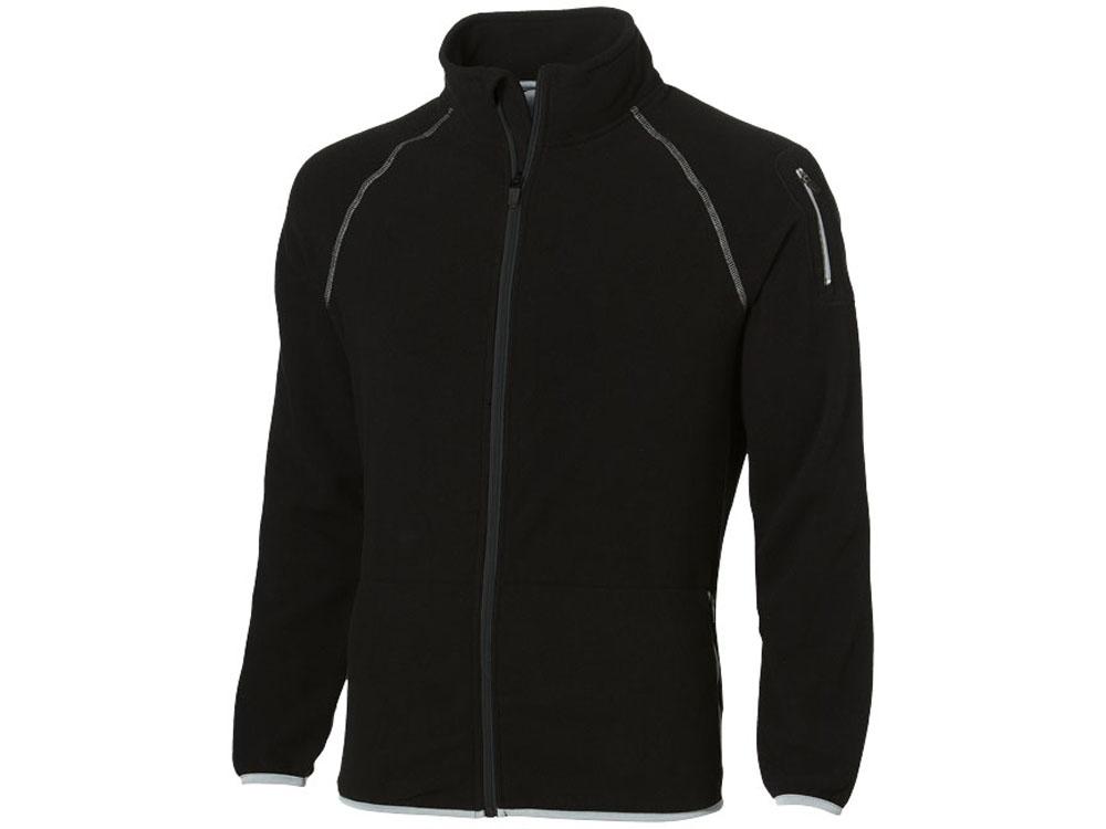 Куртка Drop Shot из микрофлиса мужская, черный