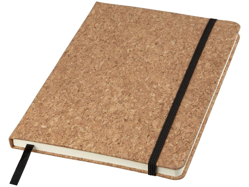 Блокнот Napa формата A5 с пробковой обложкой, натуральный