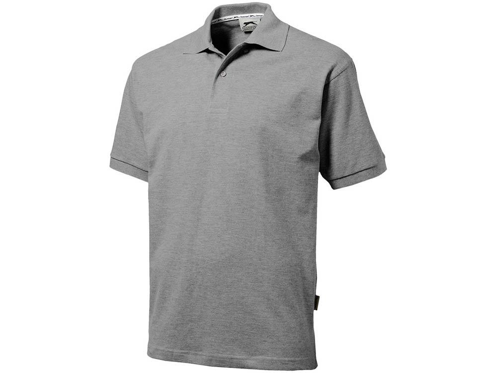 Рубашка поло Forehand мужская, серый