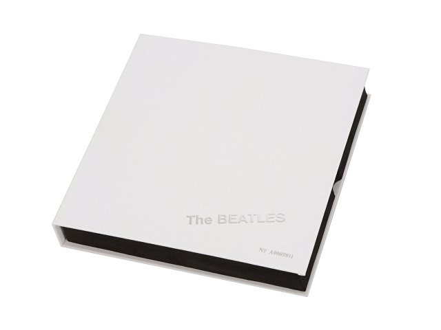 Набор The Beatles «WHITE ALBUM»: визитница, ручка роллер