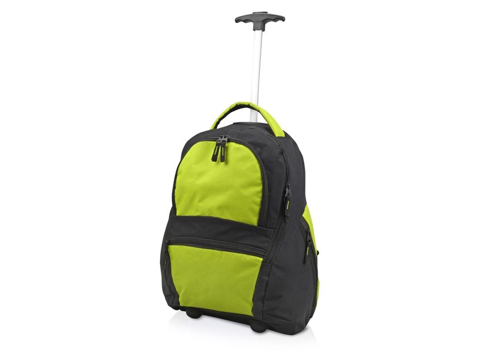 Рюкзак Осло, черный/зеленое яблоко