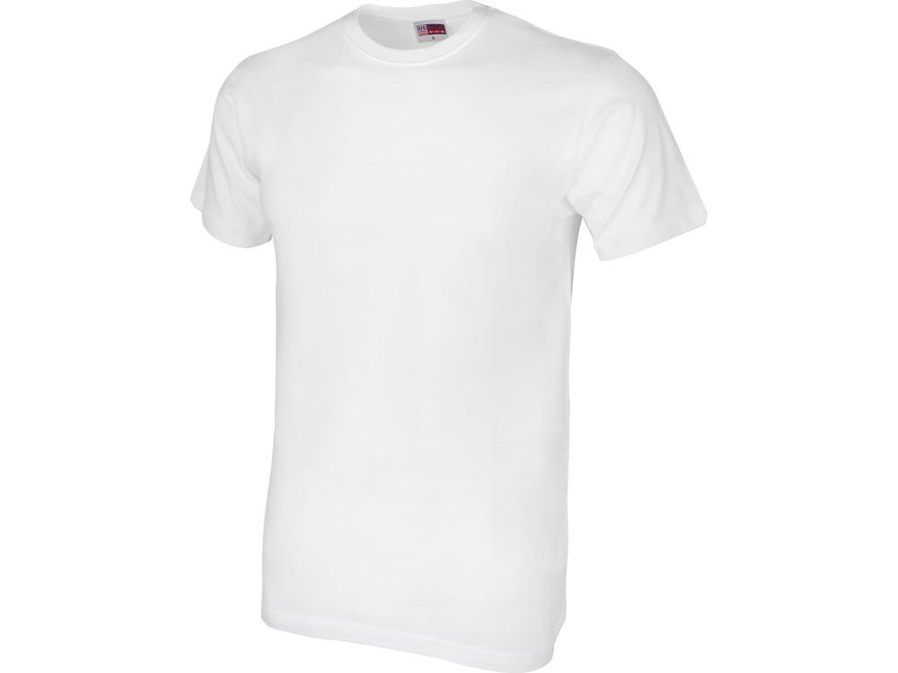 Футболка Club мужская, без боковых швов, белый