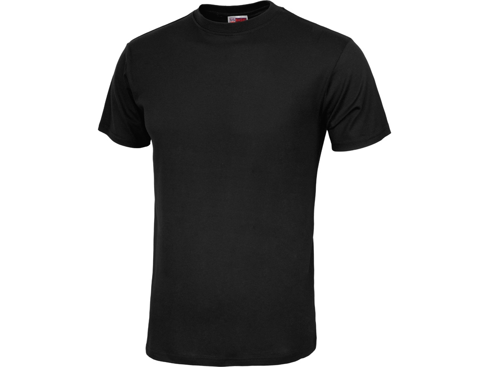 Футболка Club мужская, без боковых швов, черный