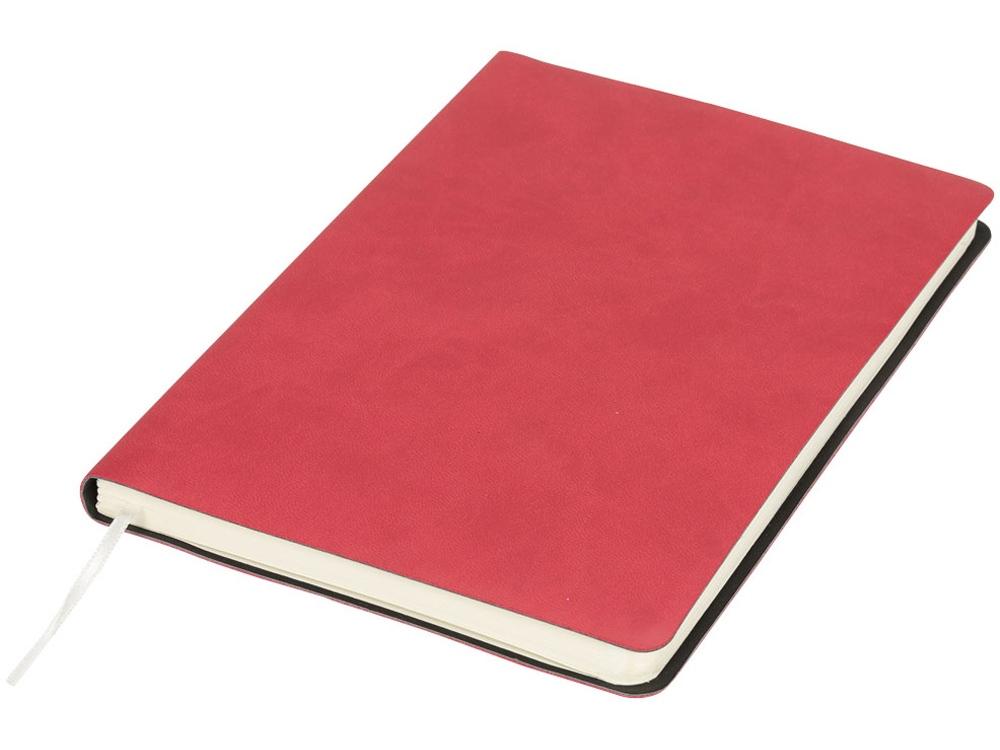 Мягкий блокнот Liberty, красный