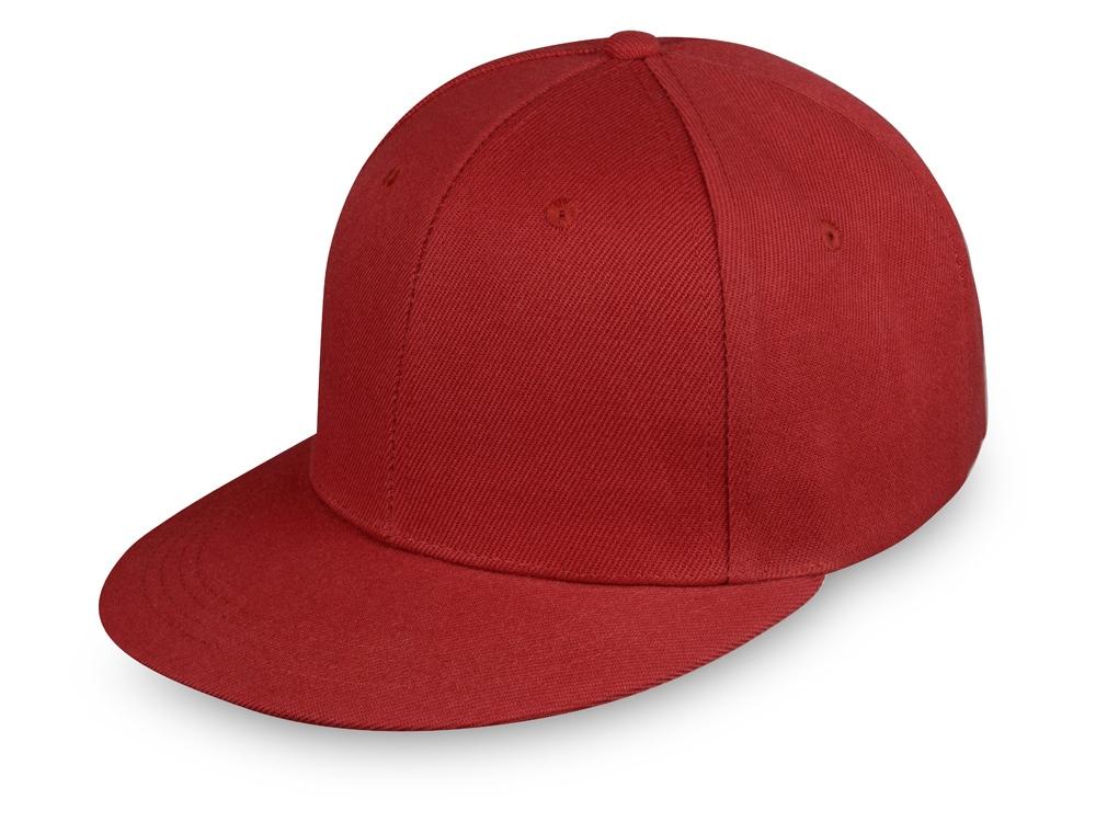 Бейсболка с прямым козырьком Los Angeles, красный