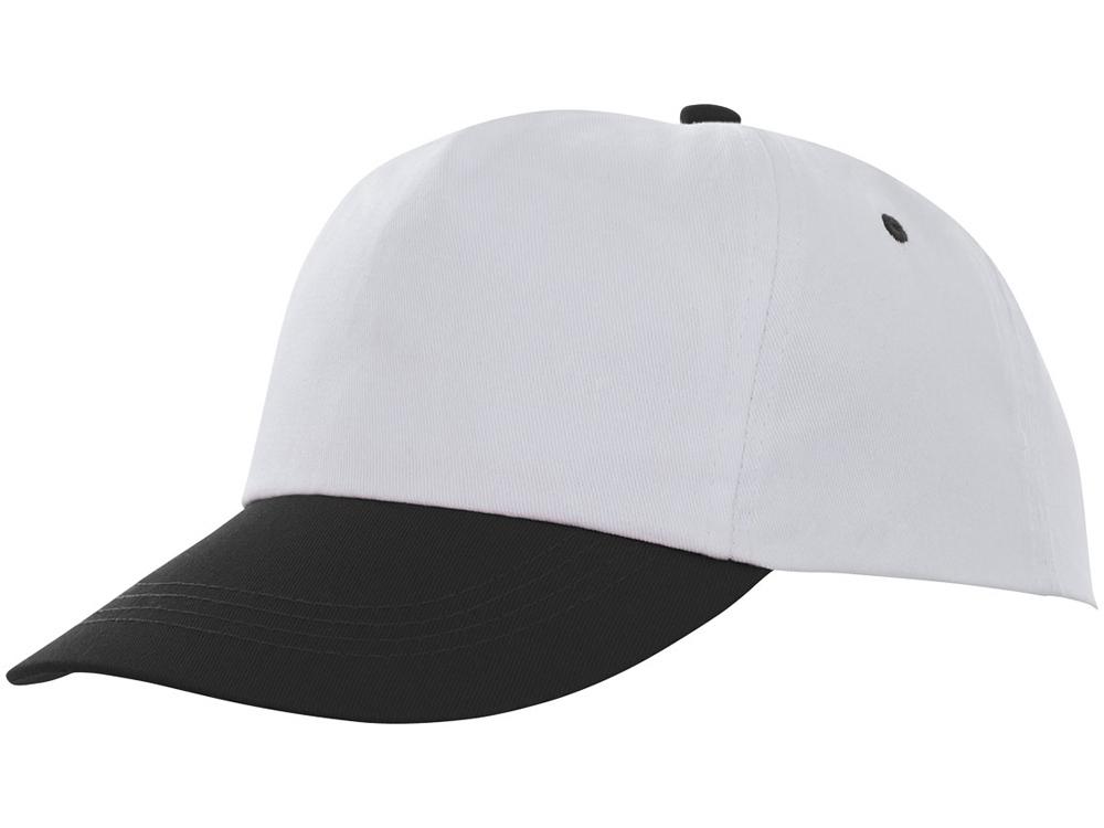 Пятипанельная двухцветная кепка Icarus, белый/черный