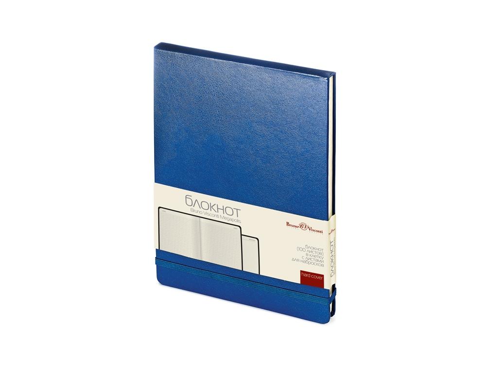 Блокнот А5 Megapolis Reporter, синий