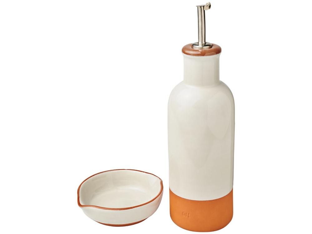 Соусница Terracotta с дозатором для растительного масла, оранжевый