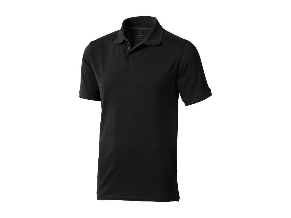 Рубашка поло Calgary мужская, черный