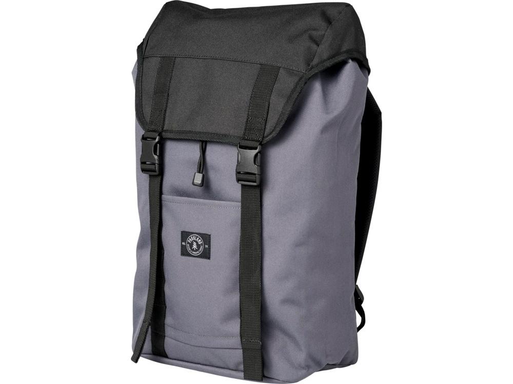 Рюкзак Westport для ноутбука 15 из переработанных материалов, серый