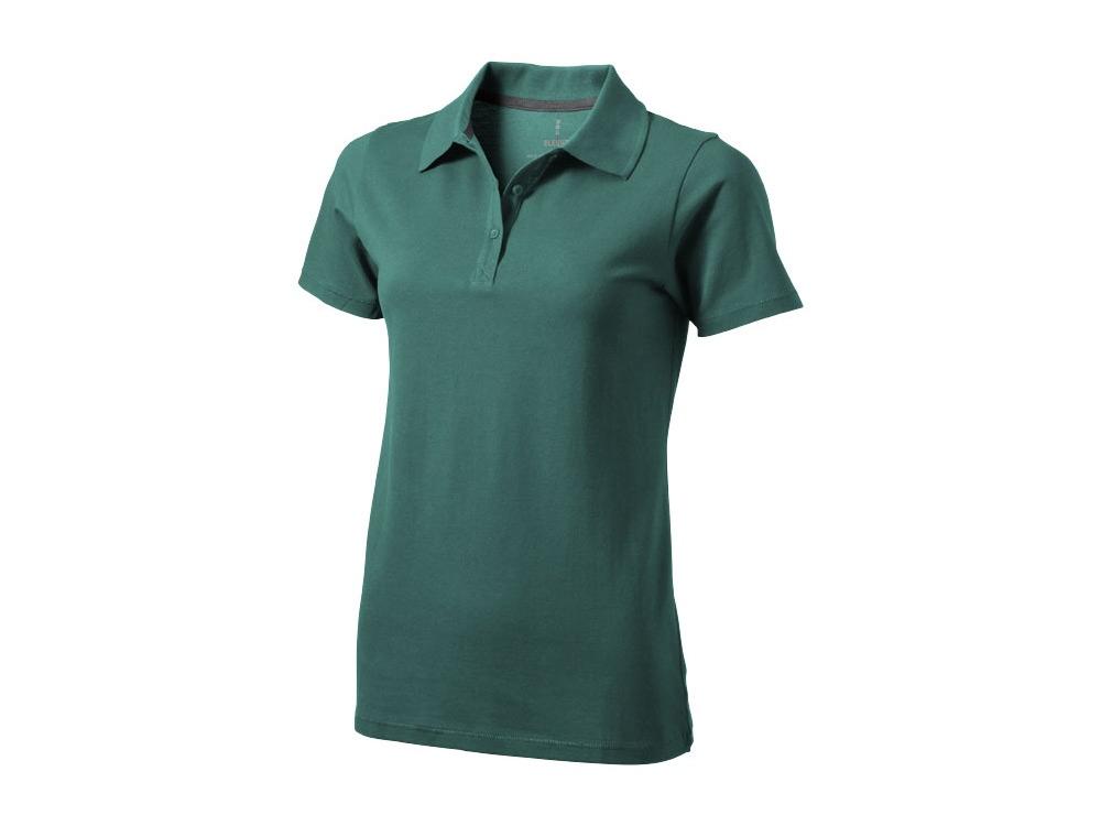 Рубашка поло Seller женская, изумрудный