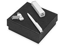 Подарочный набор On-the-go с флешкой, ручкой и зарядным устройством (арт. 700315.06)