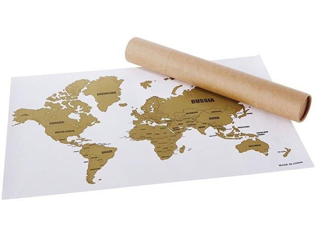 Скретч-карта мира «Wanderlust»