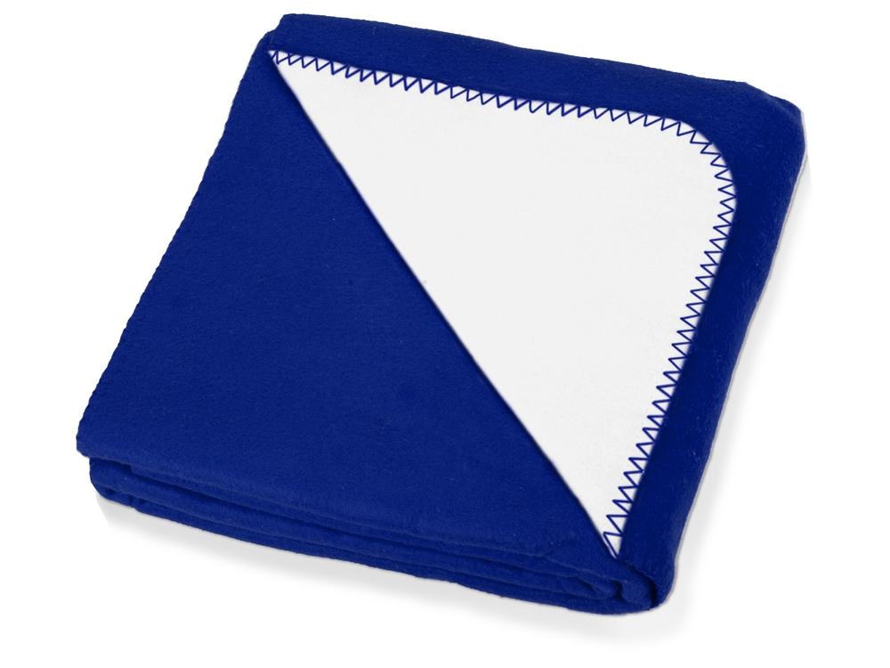 Плед Ланкастер, синий