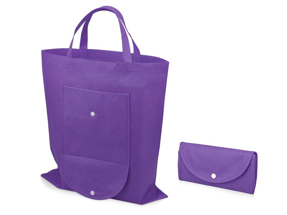 Складная сумка Maple из нетканого материала, лавандовый