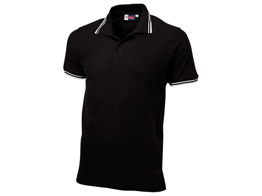 Рубашка поло Erie мужская, черный