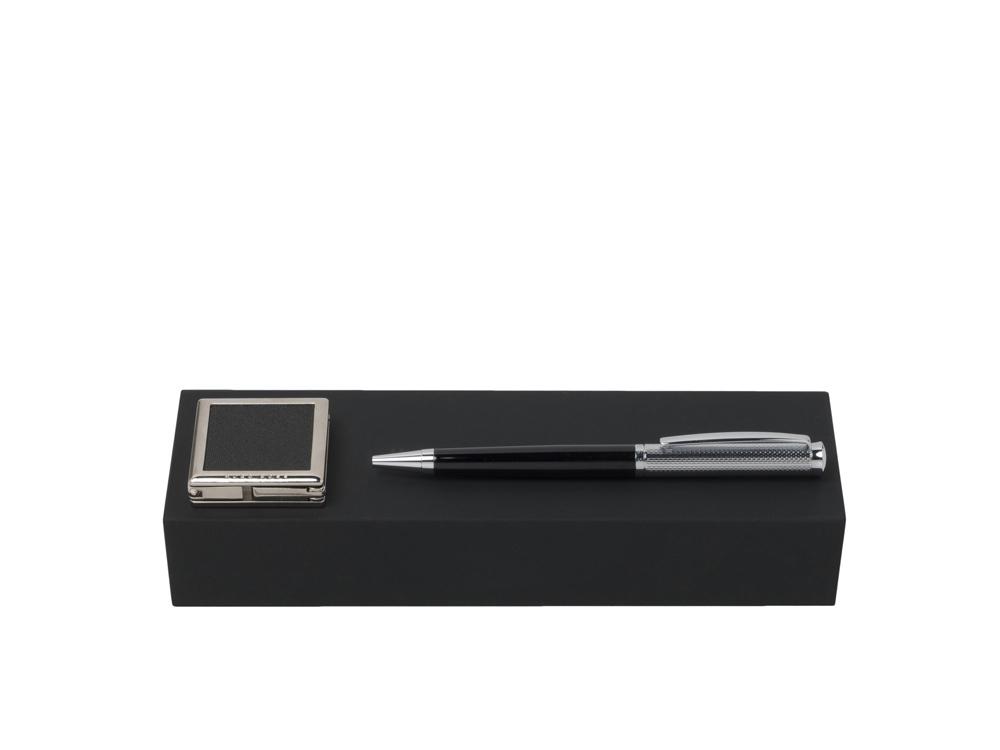 Подарочный набор: крючок для сумок, ручка шариковая. Hugo Boss