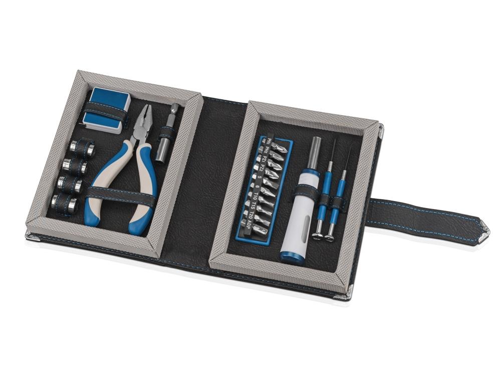 Набор инструментов в футляре в виде книги, 20 предметов