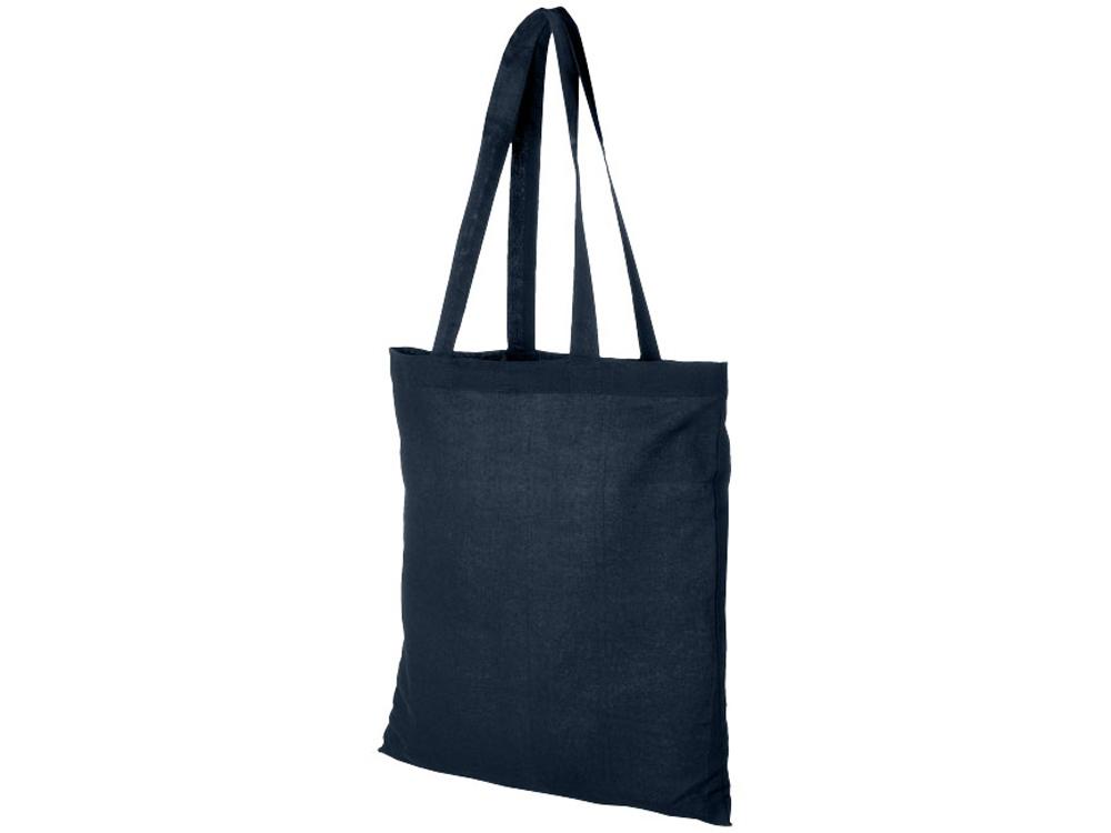 Хлопковая сумка Madras, темно-синий