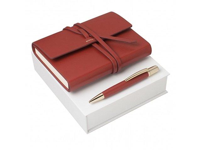 Набор: блокнот A6, ручка шариковая (арт. RPBM630P)