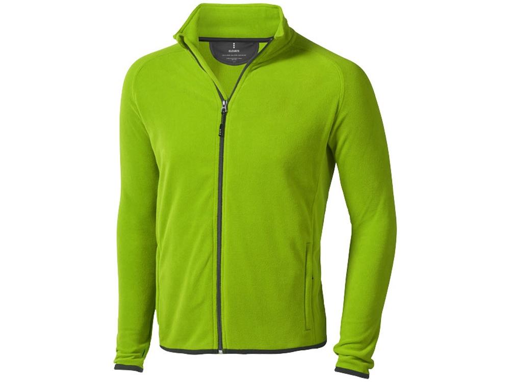 Куртка флисовая Brossard мужская, зеленое яблоко