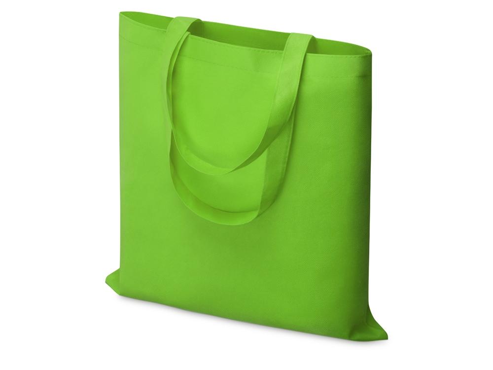 Небольшая нетканая сумка Zeus для конференций, лайм