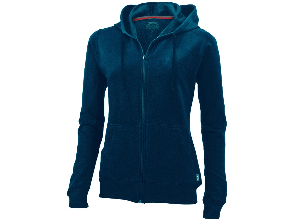 Толстовка Open женская с капюшоном, темно-синий