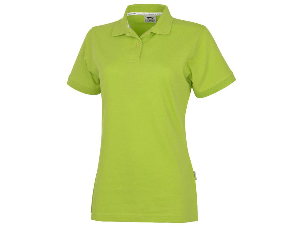 Рубашка поло Forehand женская, зеленое яблоко