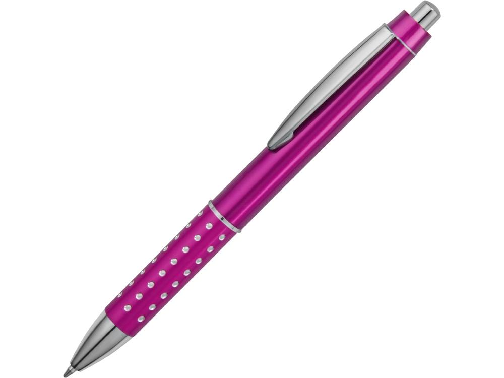 Ручка шариковая Bling, розовый, синие чернила