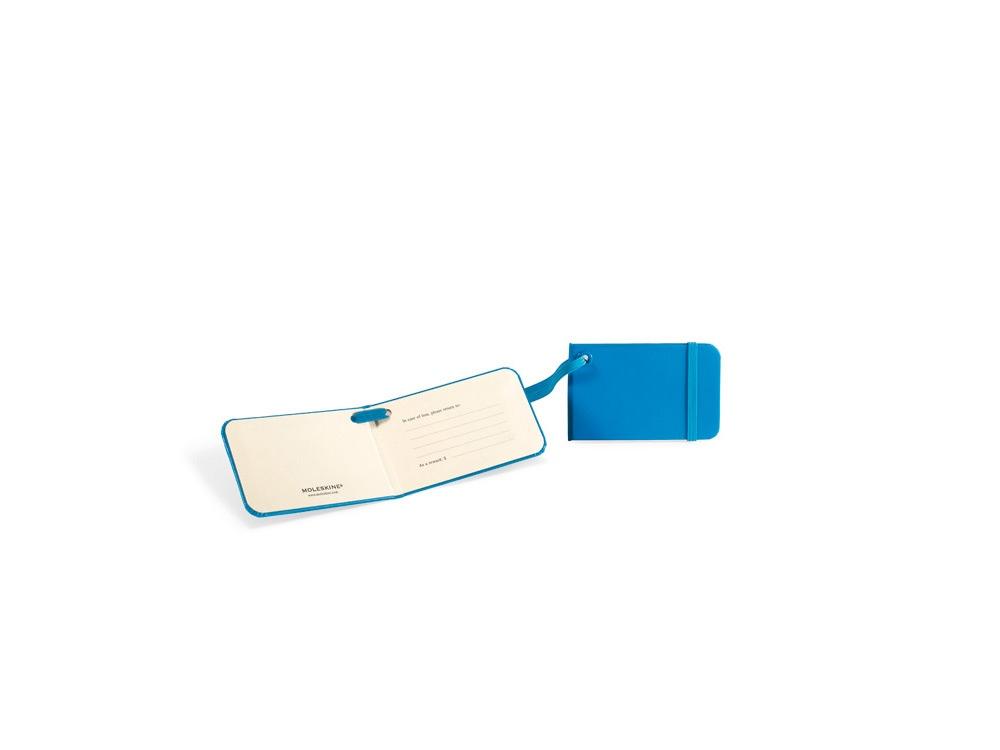 Ярлык для багажа Moleskine Luggage Tag, голубой