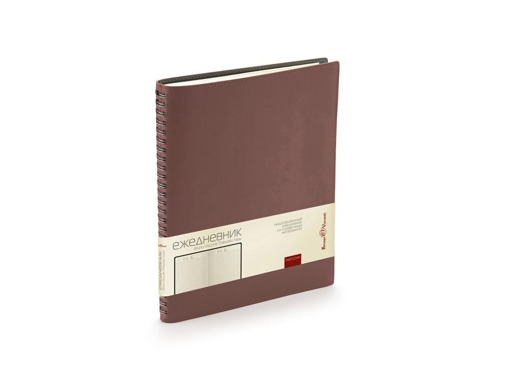 Ежедневник недатированный B5 Tintoretto New, коричневый