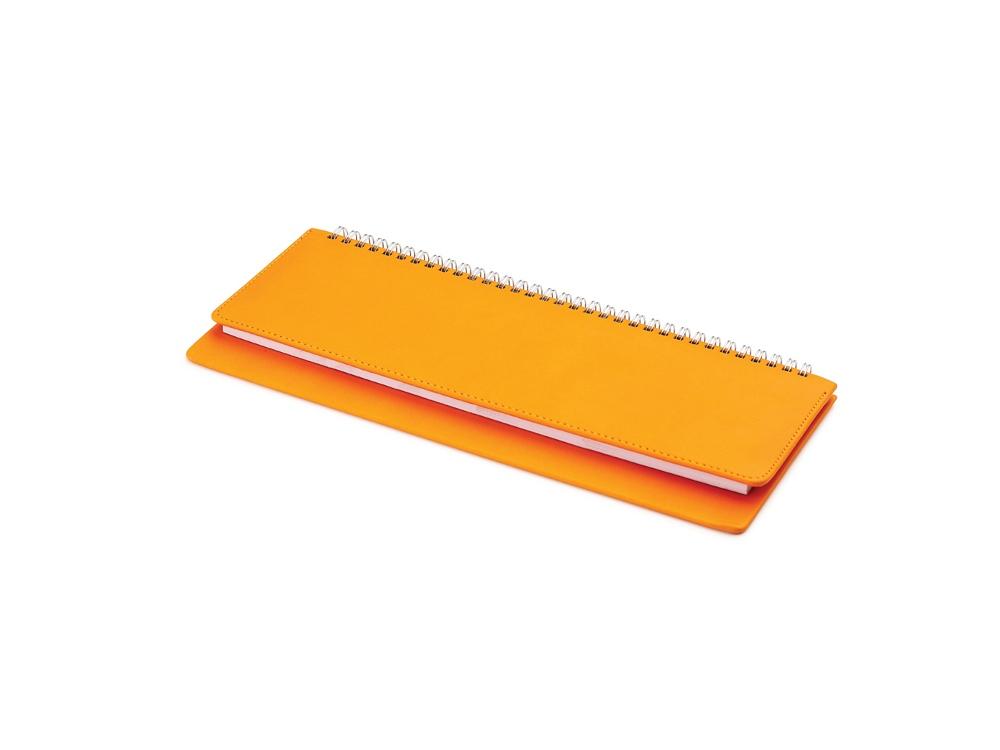 Планинг недатированный  Velvet оранжевый