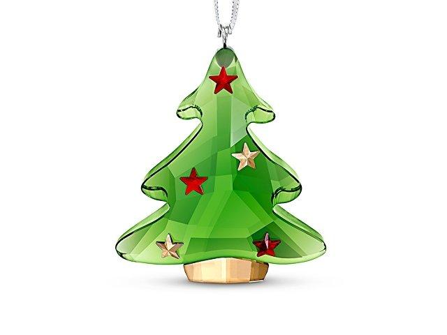 Украшение Зеленая новогодняя ёлка (арт. 5544526)