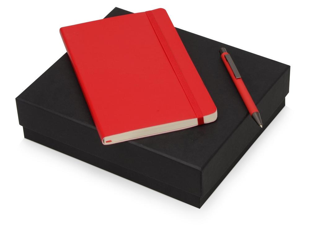 Подарочный набор Moleskine Van Gogh с блокнотом А5 Soft и ручкой, красный