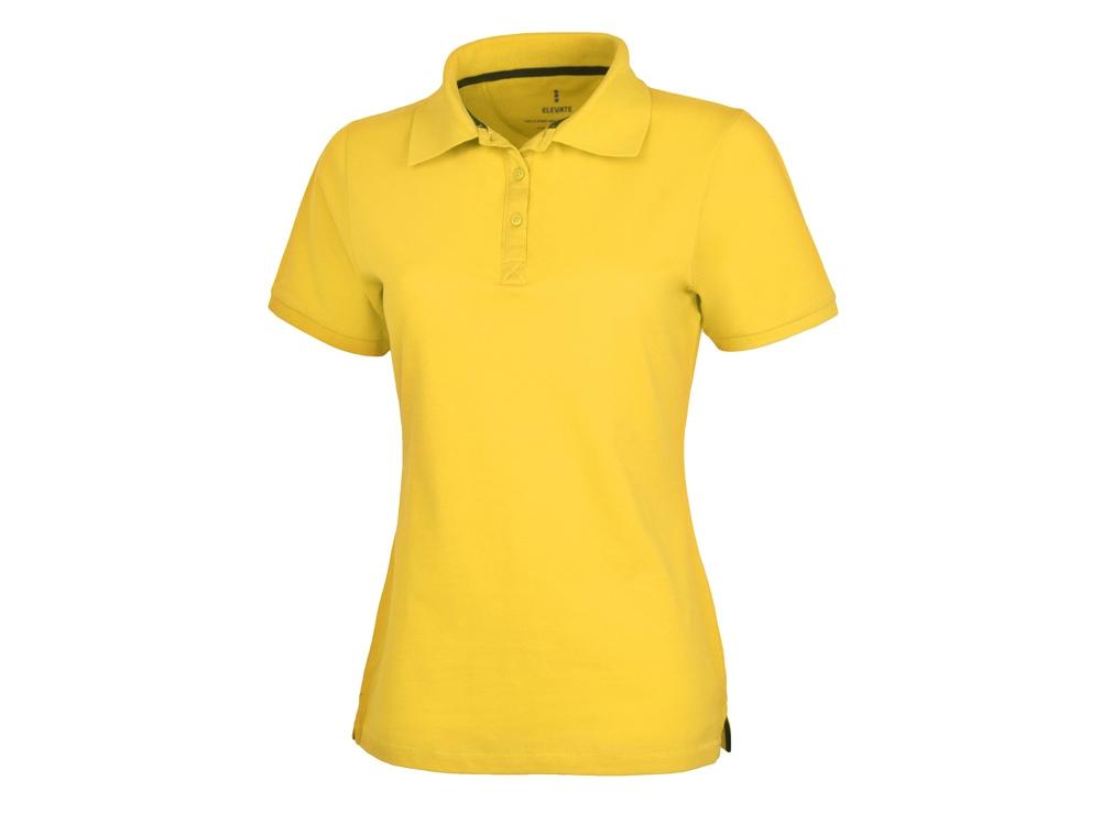 Рубашка поло Calgary женская, желтый