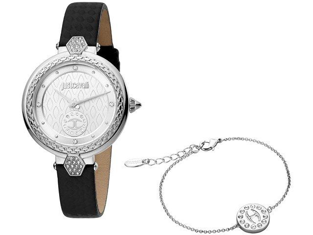 Подарочный набор: часы наручные женские, браслет (арт. 60000)