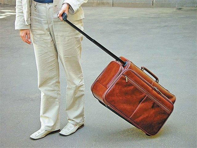 Сумка-портфель «Багамы». S.Babila, коричневый
