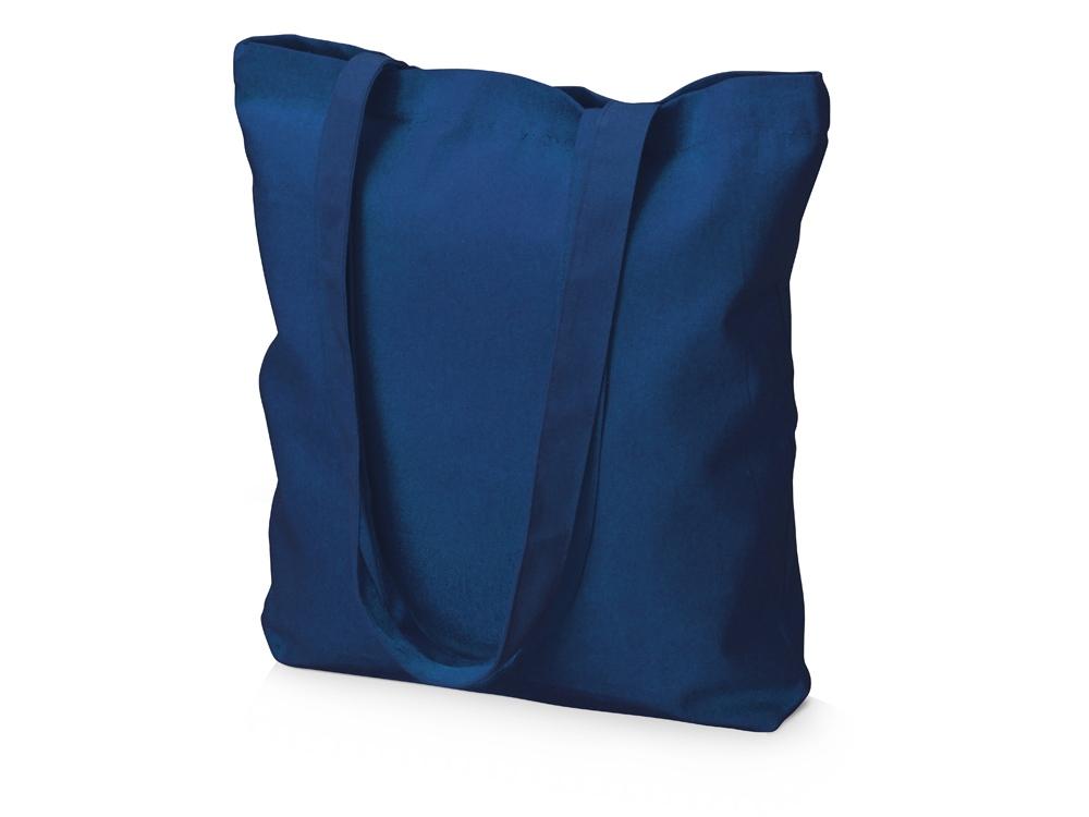 Сумка из плотного хлопка Carryme 220, темно-синий