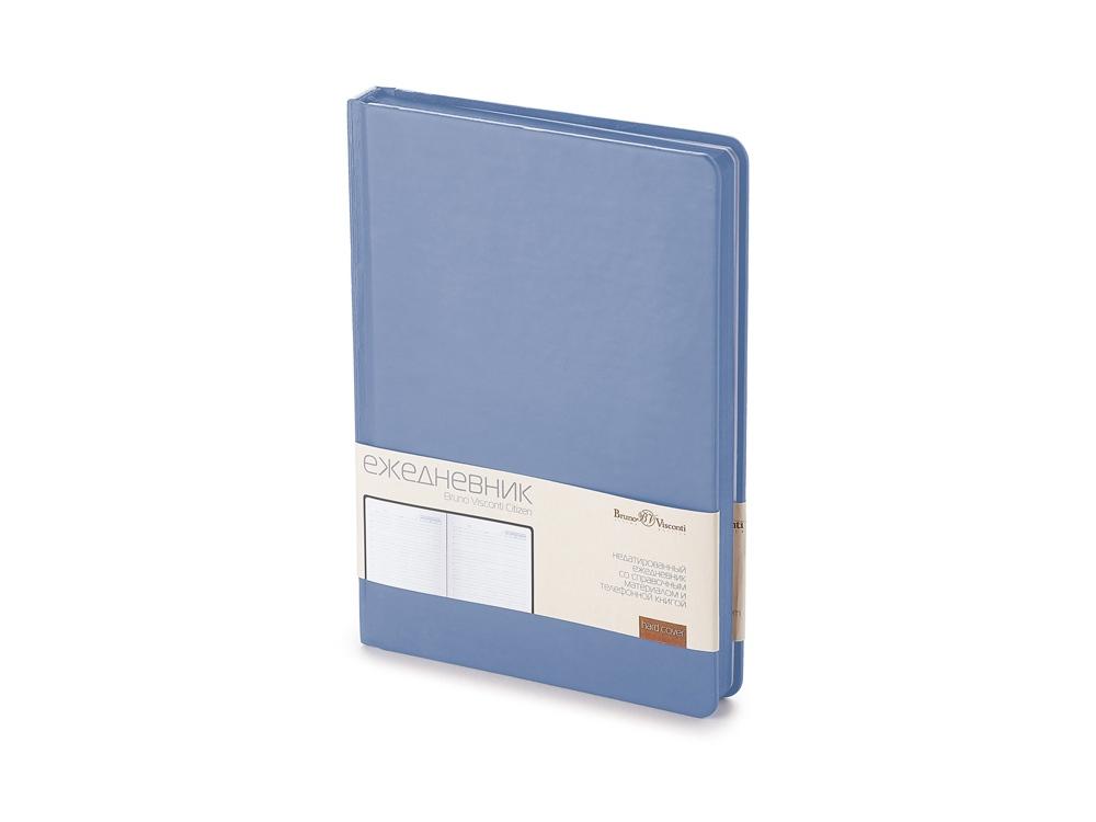 Ежедневник А5 недатированный Citizen, ярко-синий