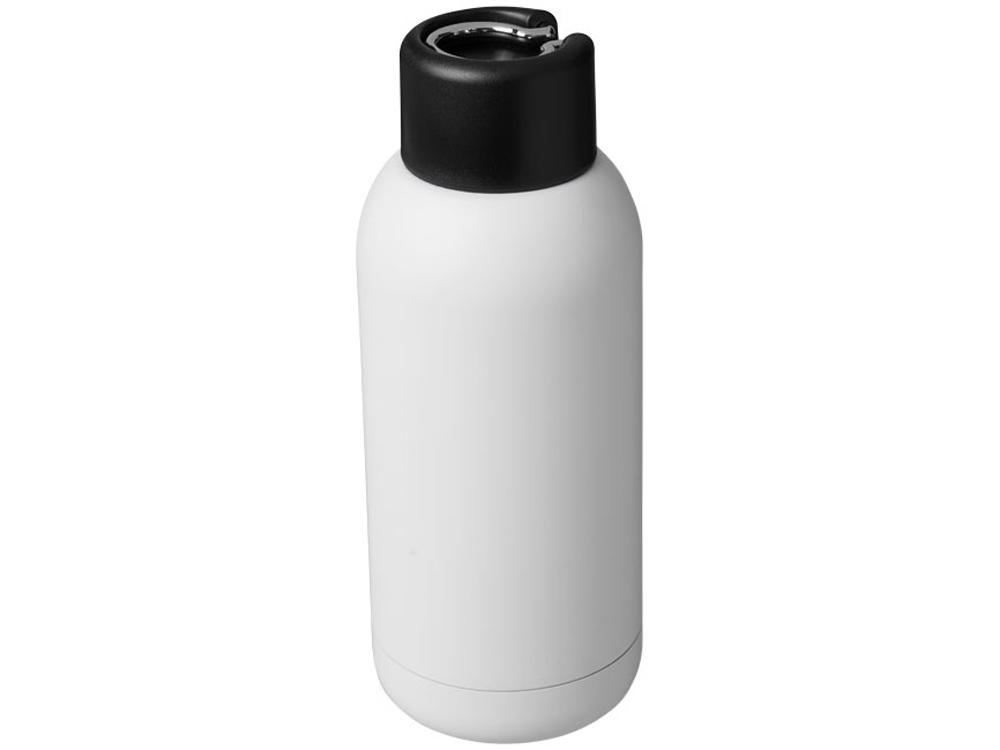 Спортивная бутылка с вакуумной изоляцией Brea объемом 375мл, белый