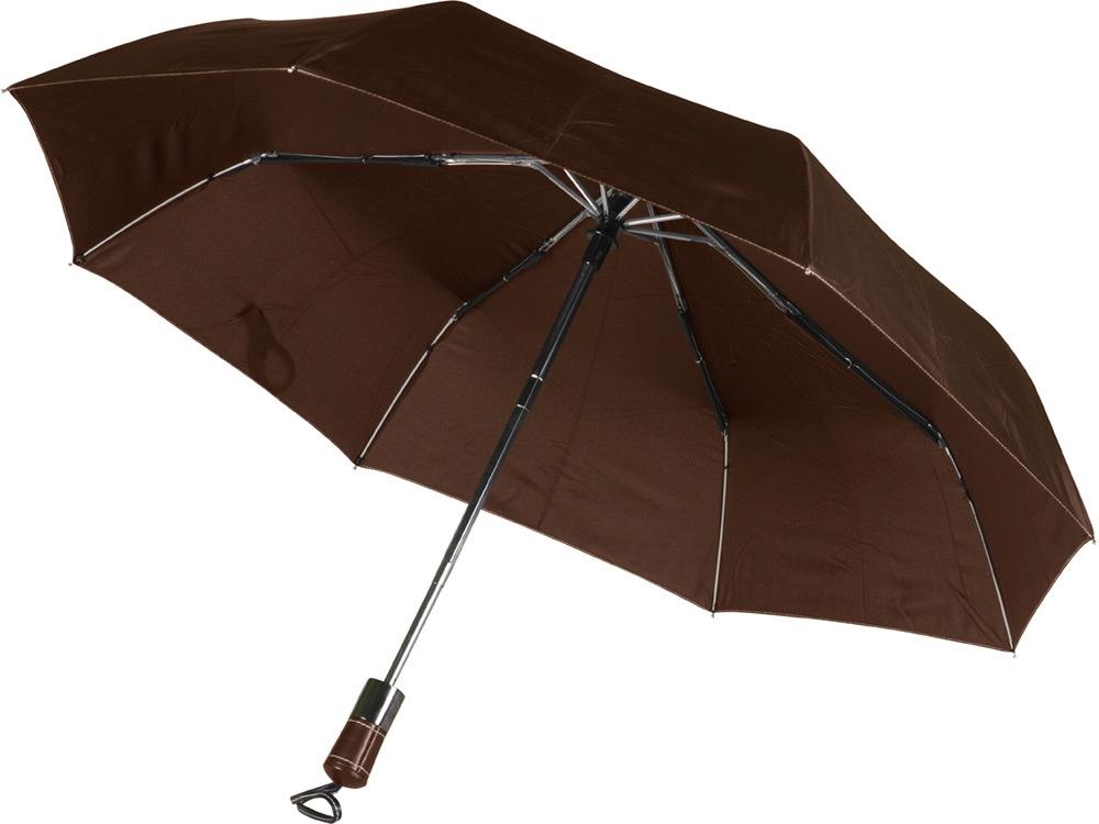 Зонт Спенсер, коричневый (Р)