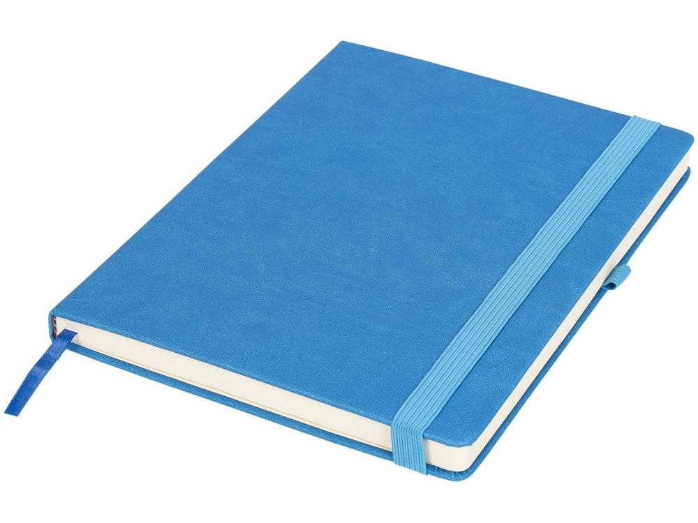 Блокнот Rivista большого размера, синий
