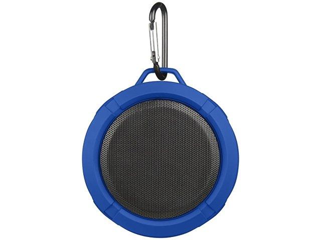 Динамик Splash с Bluetooth® можно использовать под душем или на улице, ярко-синий