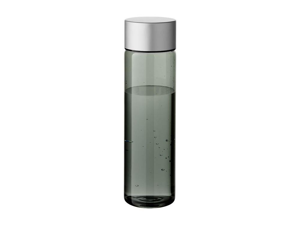 Бутылка Fox 900мл, черный прозрачный/серебристый