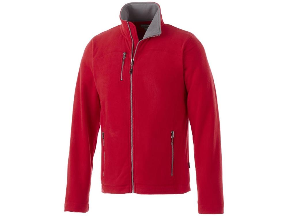 Микрофлисовая куртка Pitch, красный