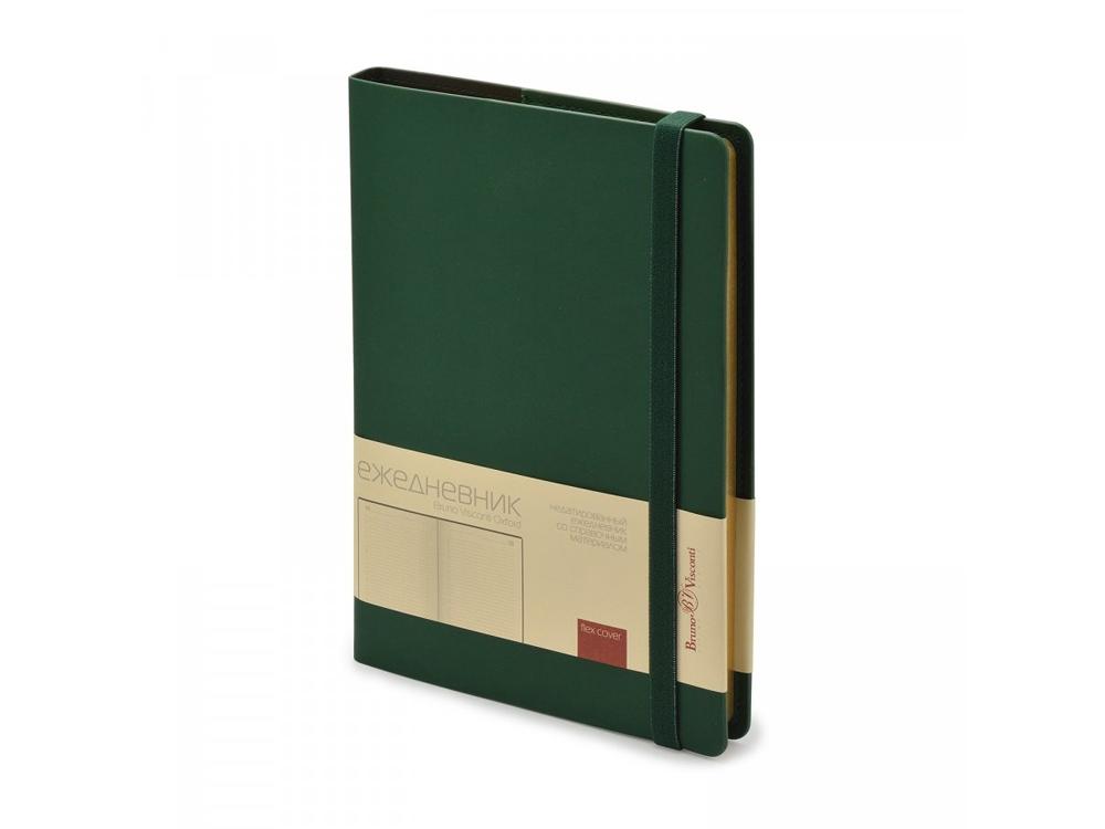 Ежедневник недатированный А5  Oxford, зеленый