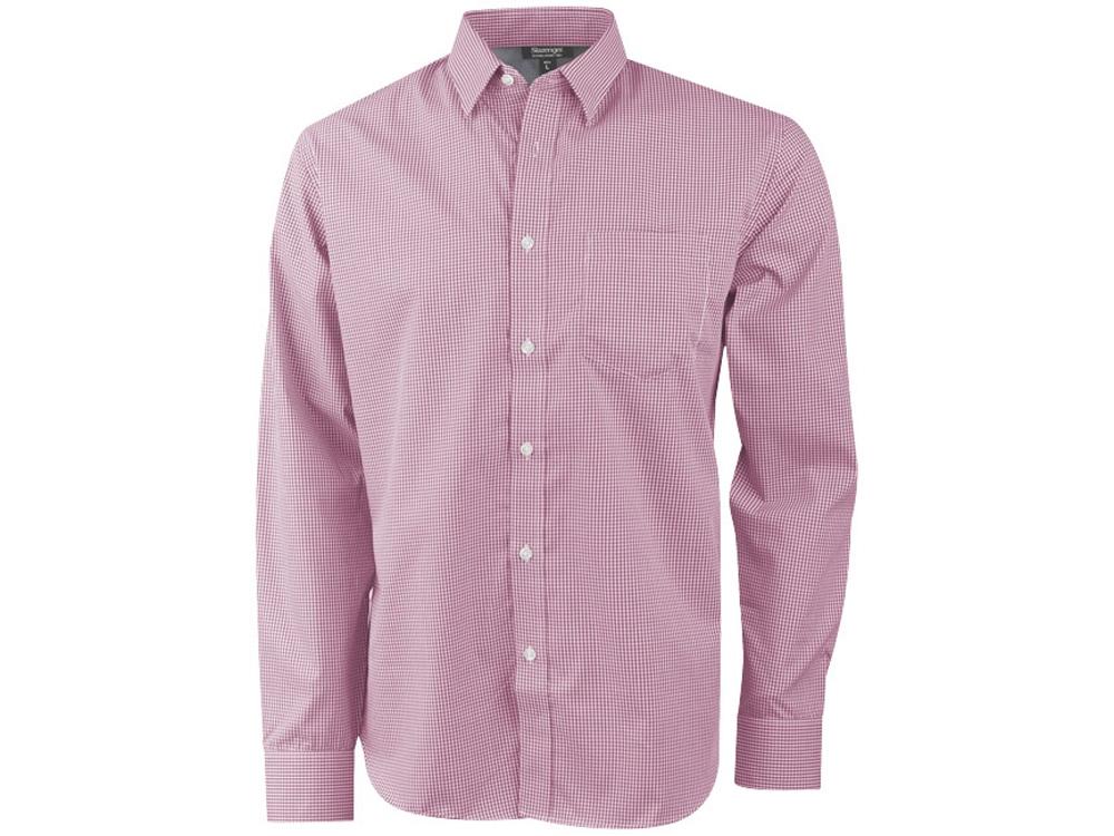 Рубашка Net мужская с длинным рукавом, красный