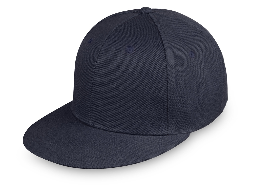Бейсболка с прямым козырьком Los Angeles, темно-синий